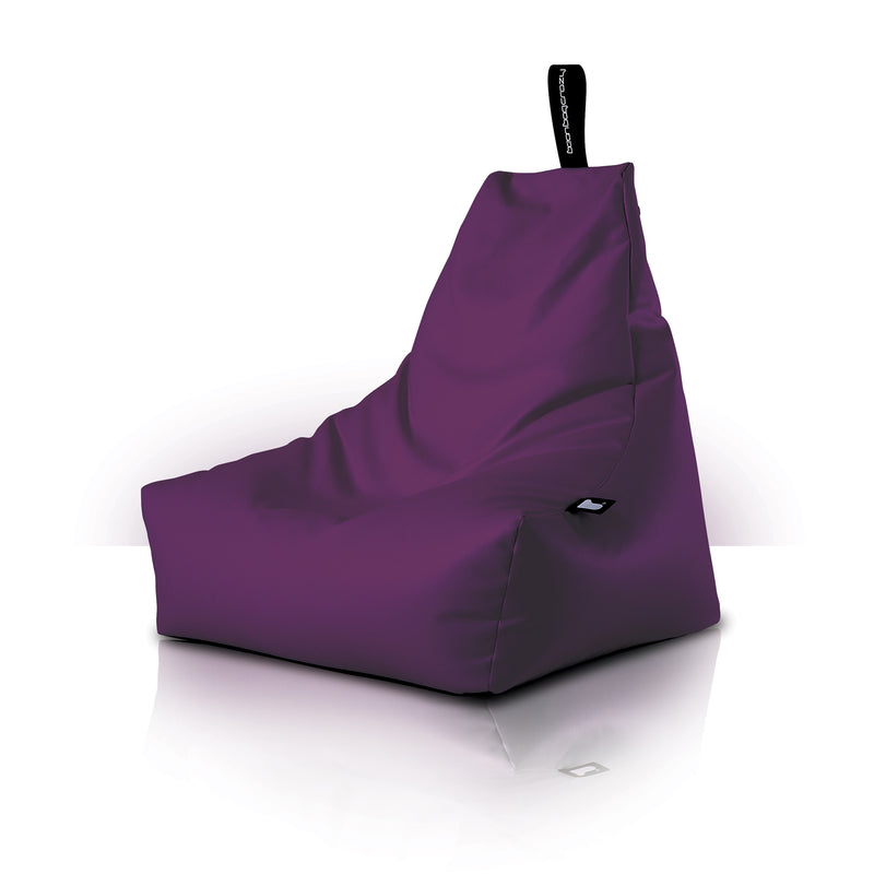 Extreme Lounging Mighty-b Bean Bag Chair Royal Purple