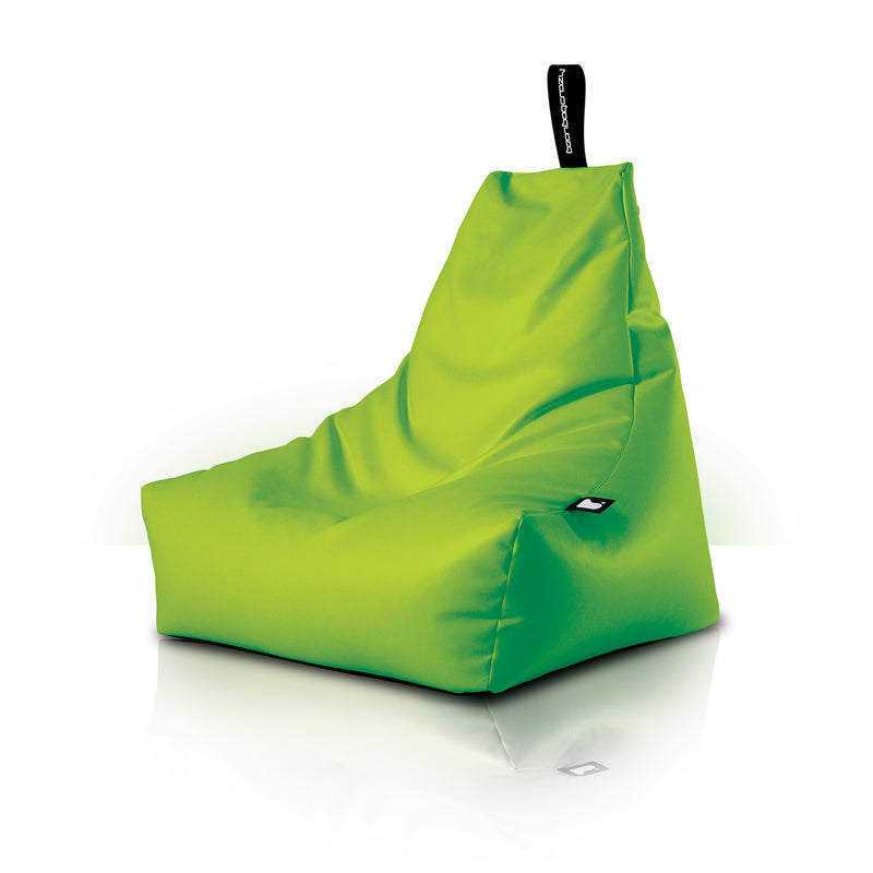 Extreme Lounging Mighty-b Bean Bag Chair Royal Lime Green