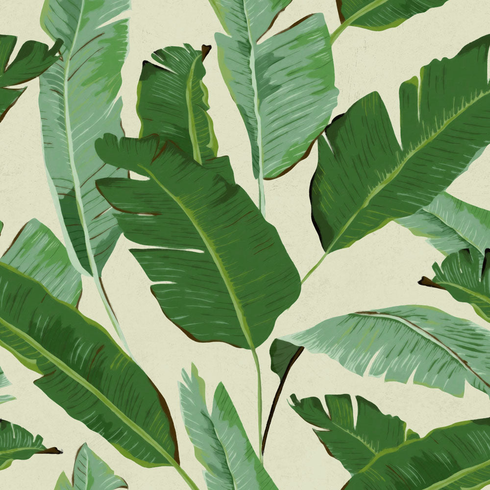 Mind The Gap Banana Leaves Wallpaper wp20111
