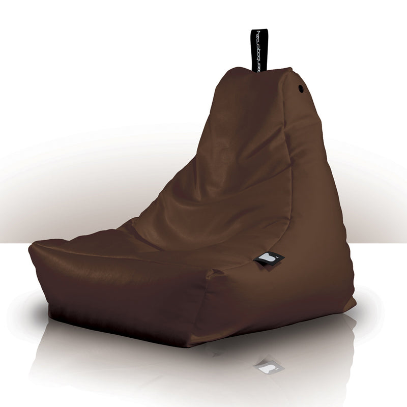 Mini-b Kids Bean Bag Chair Brown Extreme Lounging