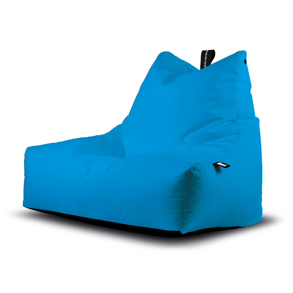 Extreme Lounging Monster-b Bean Bag Chair Outdoors PU Aqua