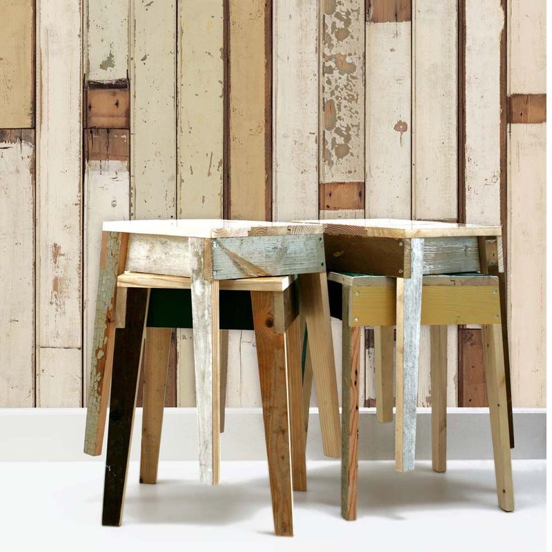 Scrapwood Wallpaper 01 by Piet Hein Eek NLXL