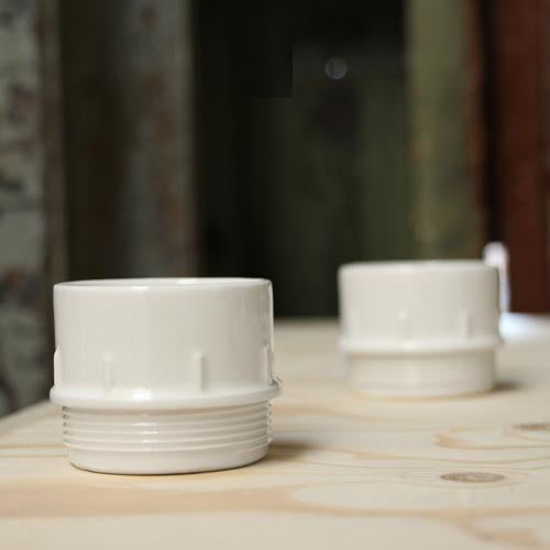 Stolen Form Pipe Condiment Cups