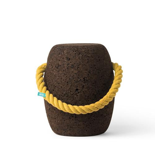 Pipo Cork Stool by Dam Big - Coloured Handles Yellow