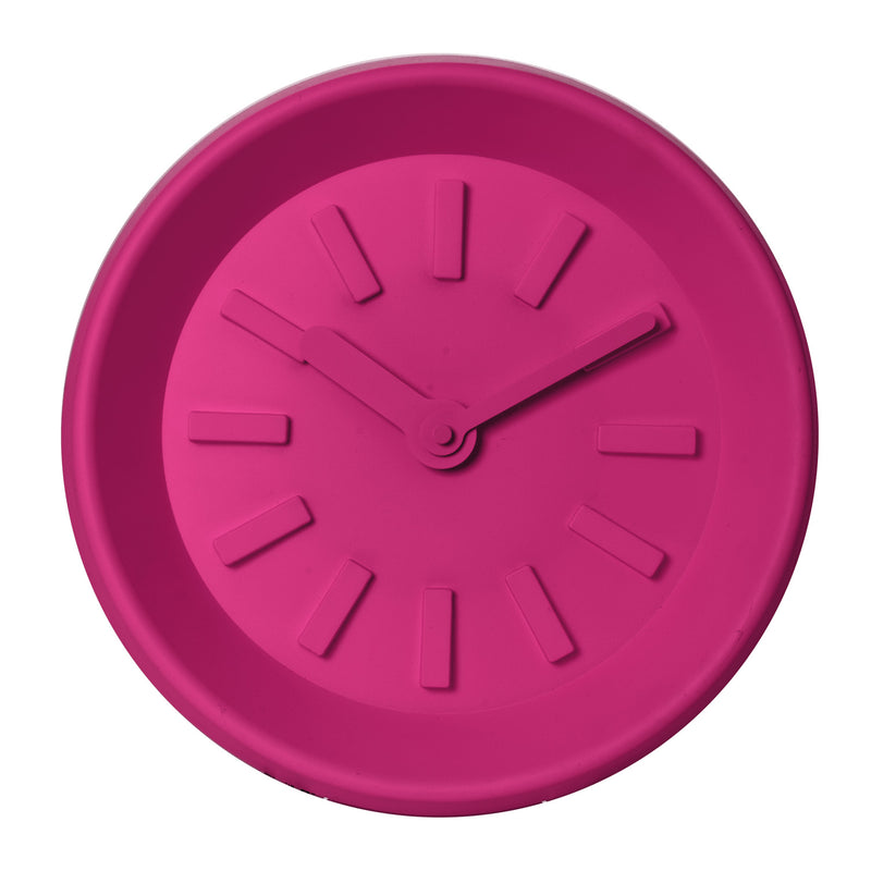 Wall Clock Station Pink