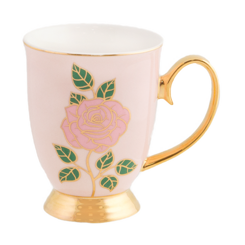 Cristina Re Mug Dolce Rosa Blush / Pink - New Bone China