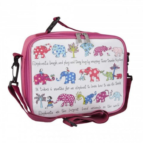 Tyrrell Katz Elephant Lunch Bag / Lunch Box, , Lunch Bag, LK Gifts, Party Twinkle | PO BOX 3145 BRIGHTON VIC 3186 AUSTRALIA | www.partytwinkle.com.au