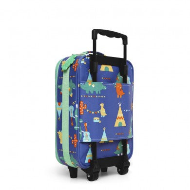 Penny Scallan Wheelie Bag / Case (2 Wheel) - Dino Rock