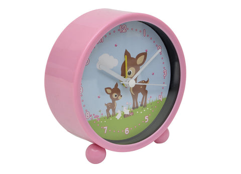 Bobble Art Alarm Clock Woodland ~!