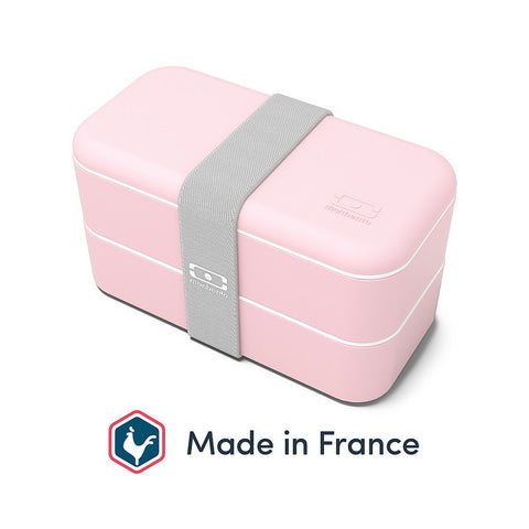 Monbento Bento Box MB Original Litchi (Light Pink) - Made in France