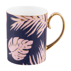 Cristina Re Mug Blue Lagoon Bone China