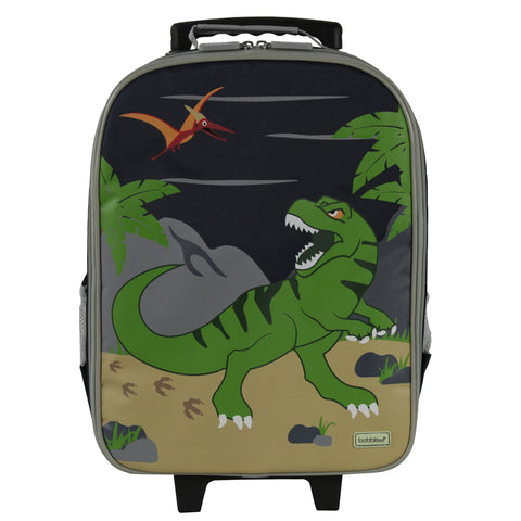 Bobble Art Wheely / Wheelie Bag - Dinosaur