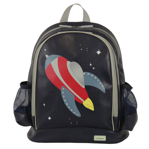 Bobble Art Large School Backpack - Rocket