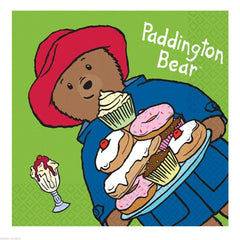 Paddington Bear Luncheon Napkins 16pk