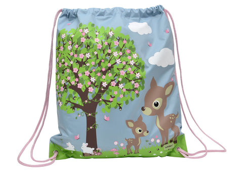 Bobble Art Drawstring / Swimming Bag - Woodland, , Backpack, Bobble Art, Party Twinkle | PO BOX 3145 BRIGHTON VIC 3186 AUSTRALIA | www.partytwinkle.com.au