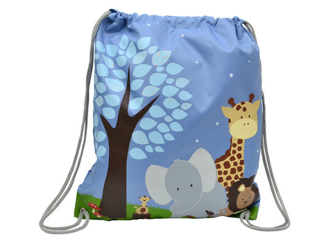 Bobble Art Drawstring / Swimming Bag - Safari (New 2017 Collection), , Backpack, Bobble Art, Party Twinkle | PO BOX 3145 BRIGHTON VIC 3186 AUSTRALIA | www.partytwinkle.com.au