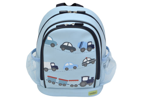 Bobble Art PVC Small School Bag Backpack Traffic, , Backpack, Bobble Art, Party Twinkle | PO BOX 3145 BRIGHTON VIC 3186 AUSTRALIA | www.partytwinkle.com.au  - 1