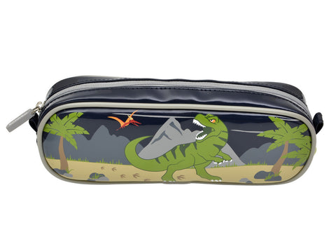 Bobble Art Barrel Pencil Case Dinosaur