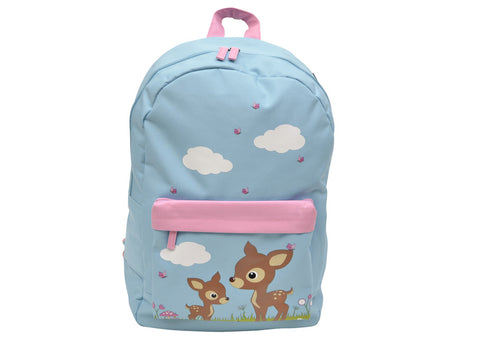 Bobble Art Coated Cotton School Backpack Woodland, , Backpack, Bobble Art, Party Twinkle | PO BOX 3145 BRIGHTON VIC 3186 AUSTRALIA | www.partytwinkle.com.au  - 1