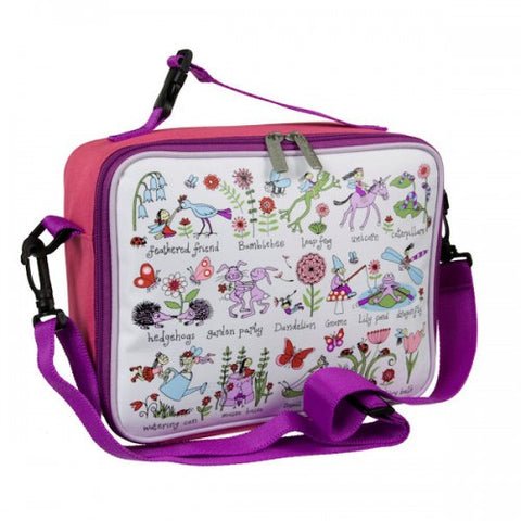 Tyrrell Katz Secret Garden Lunch Bag / Lunch Box, , Lunch Bag, LK Gifts, Party Twinkle | PO BOX 3145 BRIGHTON VIC 3186 AUSTRALIA | www.partytwinkle.com.au