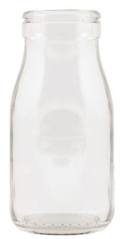 Mini Milk Bottle - Clear, , Dining, General Eclectic, Party Twinkle | PO BOX 3145 BRIGHTON VIC 3186 AUSTRALIA | www.partytwinkle.com.au