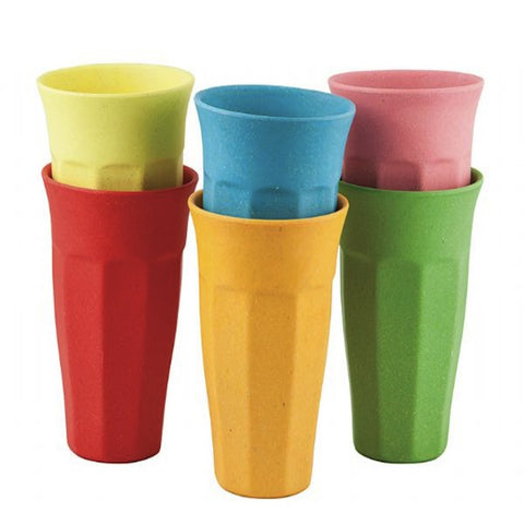Bamboo Tall Mugs - 6 assorted, , Dining, General Eclectic, Party Twinkle | PO BOX 3145 BRIGHTON VIC 3186 AUSTRALIA | www.partytwinkle.com.au