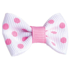 Bobble Art Large Bow Spot Mini Scrunchies Light Pink - Party Twinkle | PO BOX 3145 BRIGHTON VIC 3186 AUSTRALIA | www.partytwinkle.com.au