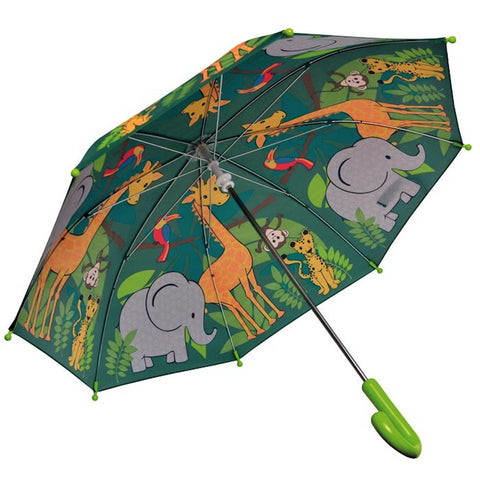 Bobble Art Jungle Umbrella - Party Twinkle | PO BOX 3145 BRIGHTON VIC 3186 AUSTRALIA | www.partytwinkle.com.au