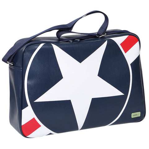 Bobble Art Star and Stripe  Overnight Bag, , Bag, Bobble Art, Party Twinkle | PO BOX 3145 BRIGHTON VIC 3186 AUSTRALIA | www.partytwinkle.com.au
