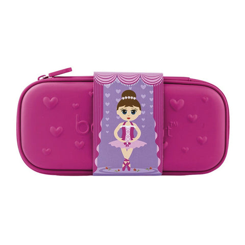 Bobble Art Eva Pink Pencil Case Ballerina, , Pencil Case, Bobble Art, Party Twinkle | PO BOX 3145 BRIGHTON VIC 3186 AUSTRALIA | www.partytwinkle.com.au
