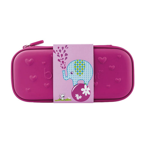 Bobble Art Eva Pink Pencil Case Elephant, , Pencil Case, Bobble Art, Party Twinkle | PO BOX 3145 BRIGHTON VIC 3186 AUSTRALIA | www.partytwinkle.com.au