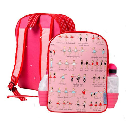 Tyrrell Katz Ballet Backpack, , Backpack, LK Gifts, Party Twinkle | PO BOX 3145 BRIGHTON VIC 3186 AUSTRALIA | www.partytwinkle.com.au
