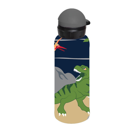 Bobble Art Stainless Steel Drink Bottle (500ml) - Dinosaurs, Bobble Art Stainless Steel Drink Bottle (500ml) - Dinosaurs, Drinking Bottle, Bobble Art, Party Twinkle | PO BOX 3145 BRIGHTON VIC 3186 AUSTRALIA | www.partytwinkle.com.au