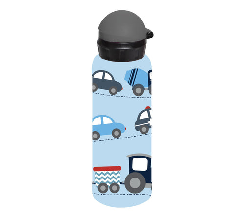 Bobble Art Stainless Steel Drink Bottle (500ml) - Cars, Bobble Art Stainless Steel Drink Bottle (500ml) - Cars, Drinking Bottle, Bobble Art, Party Twinkle | PO BOX 3145 BRIGHTON VIC 3186 AUSTRALIA | www.partytwinkle.com.au