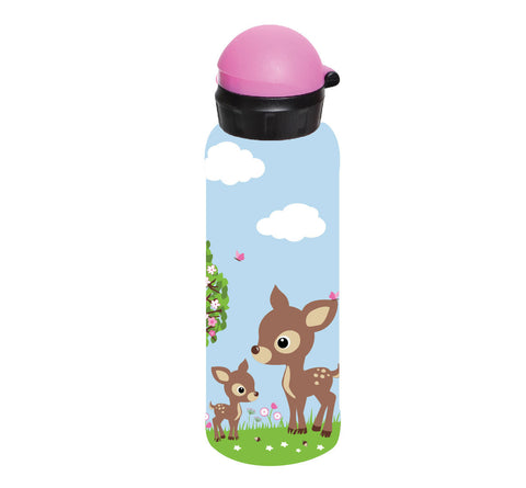 Bobble Art Stainless Steel Drink Bottle (500ml) - Woodland, Bobble Art Stainless Steel Drink Bottle (500ml) - Woodland, Drinking Bottle, Bobble Art, Party Twinkle | PO BOX 3145 BRIGHTON VIC 3186 AUSTRALIA | www.partytwinkle.com.au