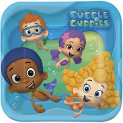Bubble Guppies 23cm Luncheon Plates (8), , Party Plate, Wholesale Halloween Costumes, Party Twinkle | PO BOX 3145 BRIGHTON VIC 3186 AUSTRALIA | www.partytwinkle.com.au