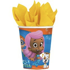 Bubble Guppies Cups (8), , Cups, Wholesale Halloween Costumes, Party Twinkle | PO BOX 3145 BRIGHTON VIC 3186 AUSTRALIA | www.partytwinkle.com.au