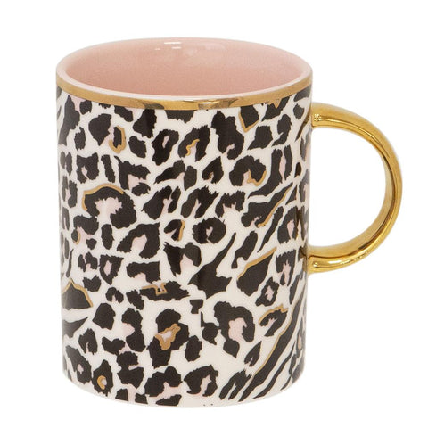 Cristina Re Mug Safari Leopard New Bone China