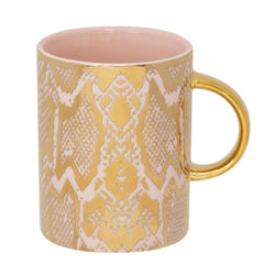 Cristina Re Mug Safari Snakeskin Bone China