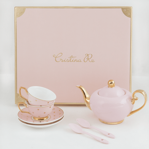 Cristina Re Petite Tea Set Blush / Pink / Gold