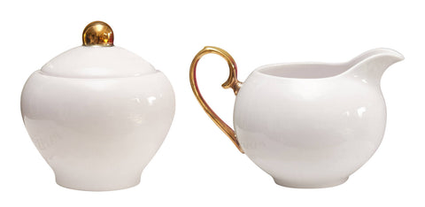 Cristina Re Sugar Bowl and Creamer Ivory, , High Tea, Cristina Re, Party Twinkle | PO BOX 3145 BRIGHTON VIC 3186 AUSTRALIA | www.partytwinkle.com.au  - 1