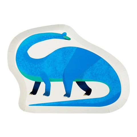Talking Tables Party Dinosaur Shaped Plates 12s