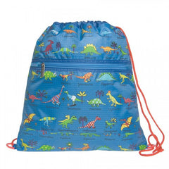 Tyrrell Katz Dinosaur Swimming / Drawstring / Kit Bag, , Backpack, LK Gifts, Party Twinkle | PO BOX 3145 BRIGHTON VIC 3186 AUSTRALIA | www.partytwinkle.com.au