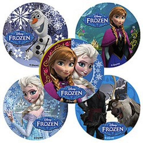 Disney Frozen Large Stickers -  (5 per pack) / Party Favors, , Favor Bags Accessories , Discount Party Supplies, Party Twinkle | PO BOX 3145 BRIGHTON VIC 3186 AUSTRALIA | www.partytwinkle.com.au