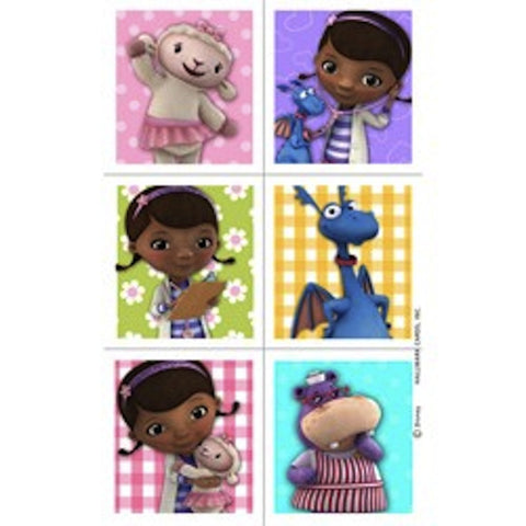 Doc McStuffins Stickers (4 sheets), , Favor Bags Accessories , Wholesale Halloween Costumes, Party Twinkle | PO BOX 3145 BRIGHTON VIC 3186 AUSTRALIA | www.partytwinkle.com.au