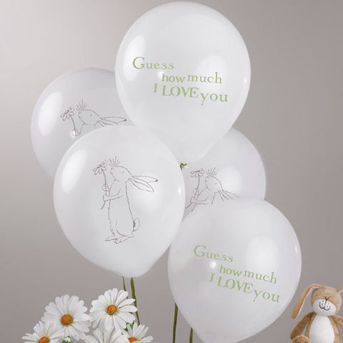 "Guess How Much I Love You Party Balloons - 11"" Latex (8 pack), , Balloons, Delights Direct, Party Twinkle 