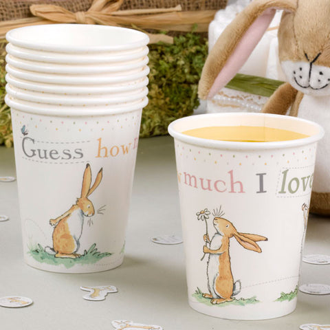 Guess How Much I Love You Cups (8 pack), , Cups, Delights Direct, Party Twinkle | PO BOX 3145 BRIGHTON VIC 3186 AUSTRALIA | www.partytwinkle.com.au