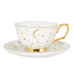 Cristina Re Teacup It's Written in the Stars Ivory & Gold
