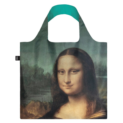 LOQI Museum Collection Reusable Shopping Bag - Mona Lisa
