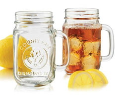 Libbey County Fair Drinking Jar (16 ounces), , Drinking Bottle , Barware, Party Twinkle | PO BOX 3145 BRIGHTON VIC 3186 AUSTRALIA | www.partytwinkle.com.au  - 1